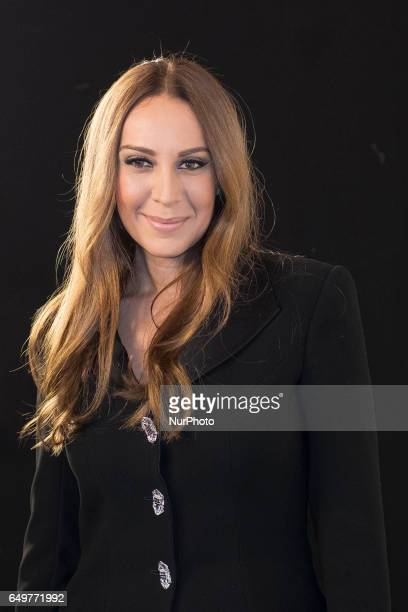 The singer Monica Naranjo attends the presentation of 'Tu cara no me suena todavía' in Madrid March 8 2017