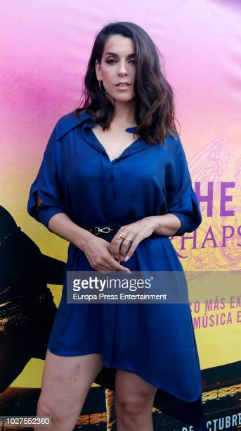 The singer Ruth Lorenzo attends 'Freddie For A Day' on September 5, 2018 in Madrid, Spain.