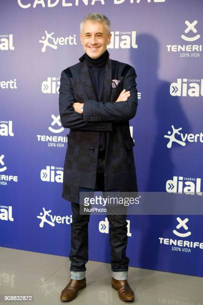 the singer Sergio Dalma attends the presentation of the XXII Cadena Dial Awards in Madrid Spain January 22 2018