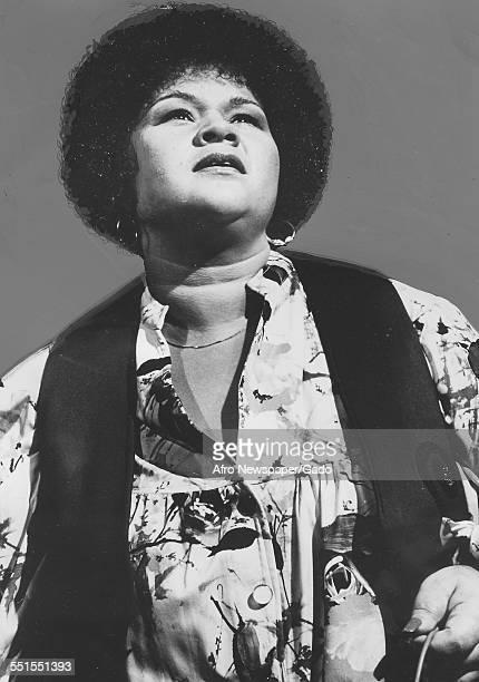 The singer songwriter Etta James in 1981 September 9 1978