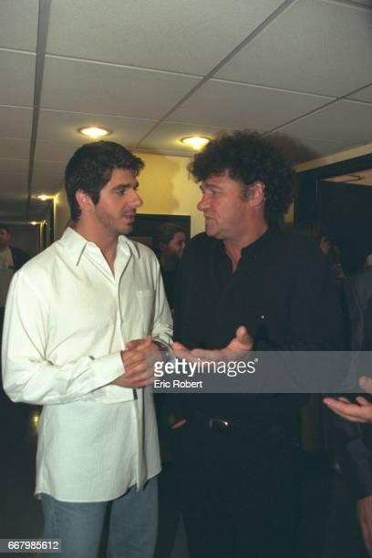 The singers Patrick Fiori and Robert Charlebois