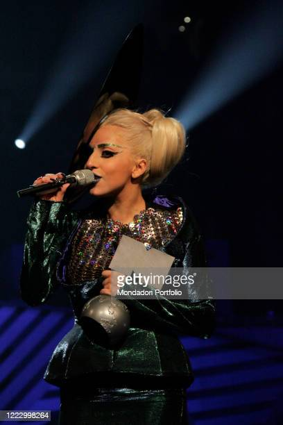The singersongwriter and actress Lady Gaga at the MTV Europe Music Awards 2011 Belfast Northern Ireland November 6th 2011