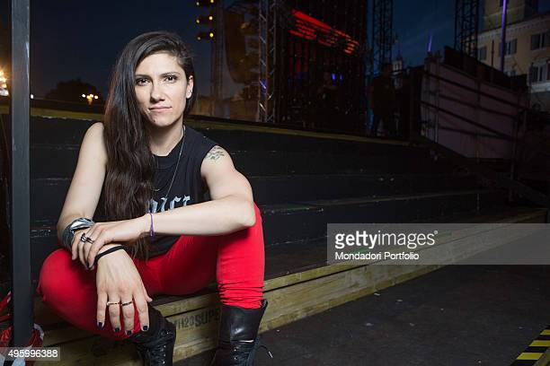 The singersongwriter Elisa at CocaCola Summer Festival Rome Italy 27th June 2014