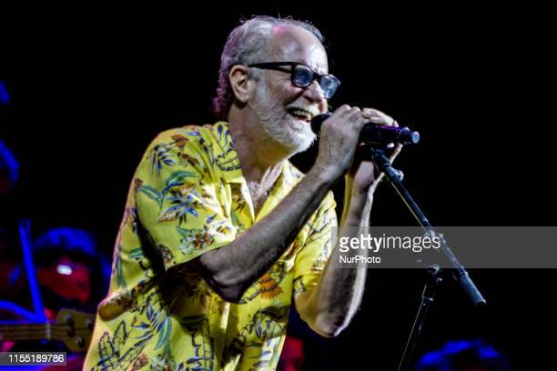 The singersongwriter Francesco De Gregori stars on the stage of the Marostica Summer Festival with his tour 'De Gregori amp Orchestra Greatest Hits...