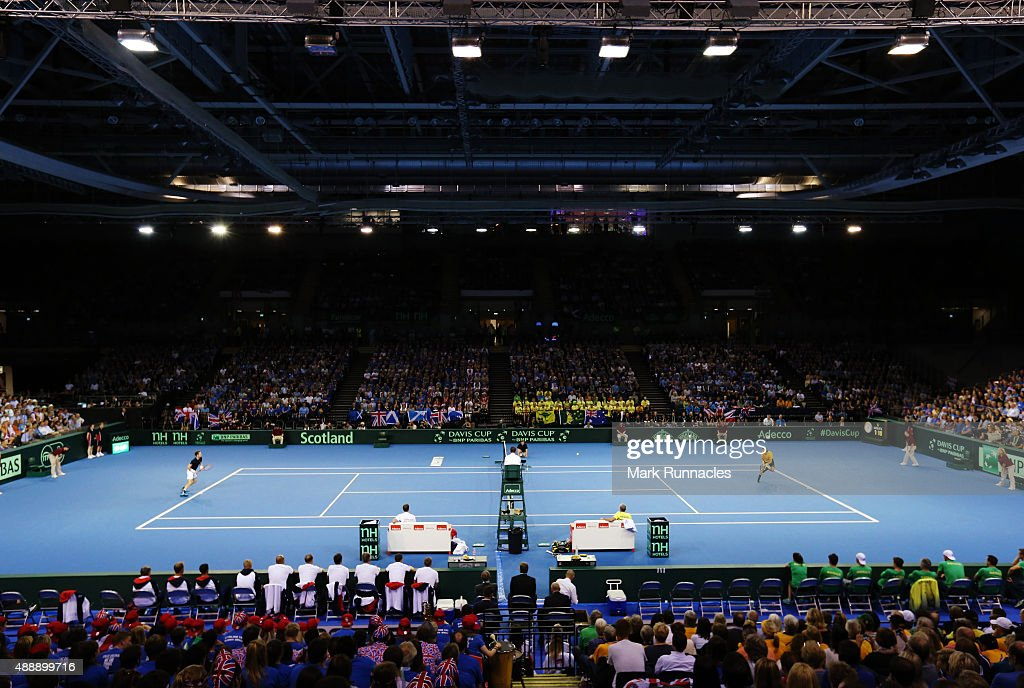 Great Britain v Australia Davis Cup Semi Final 2015 - Day 1 : News Photo
