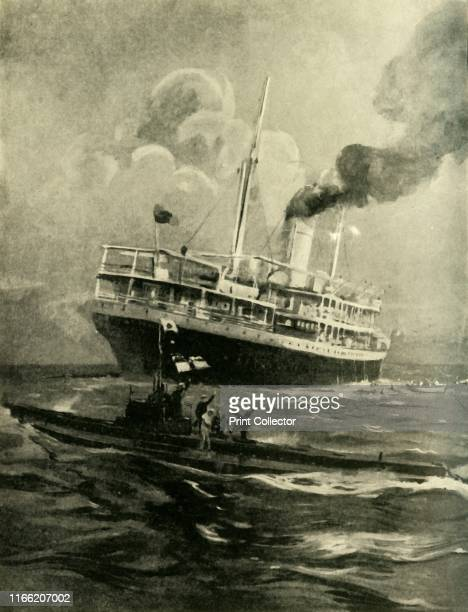 The sinking of the Falaba First World War 28 March 1915 ' how the ElderDempster liner was torpedoed by the German submarine with the loss of 111...