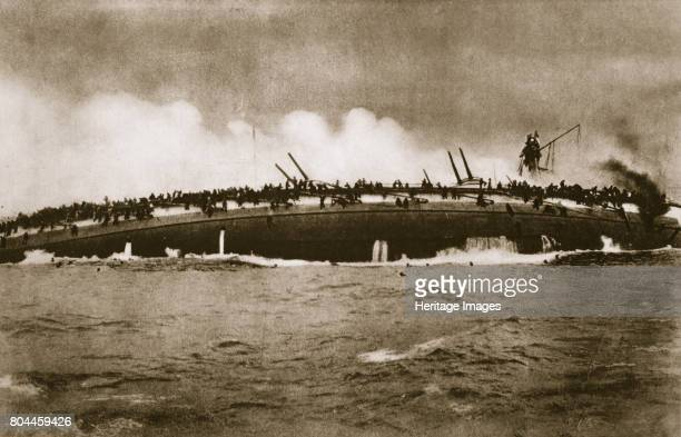 The sinking of the German cruiser 'Blücher' in the North Sea World War I January 24 1915 The SMS 'Blücher' was sunk by the Royal Navy during the...