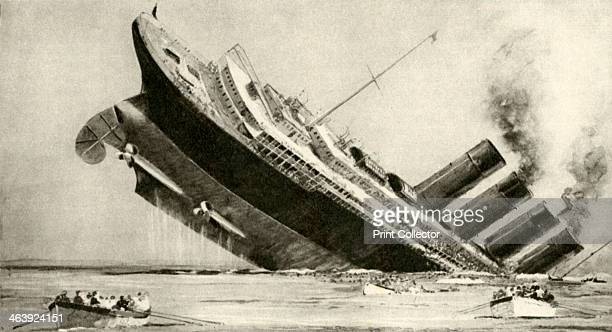 The sinking of the 'Lusitania' 7 May 1915 A German submarine sank the Lusitania off the Irish coast Although unarmed she was carrying munitions 1198...
