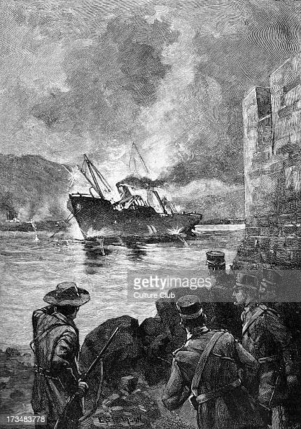 The Sinking of the Merrimac during the SpanishAmerican War 1898