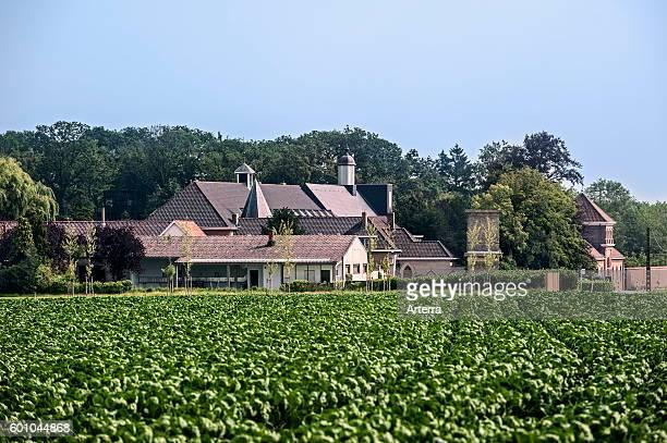 The SintSixtusabdij / Abbey of Saint Sixtus of Westvleteren run by Cistercian / Trappist monks and brewery of the best beer in the world Vleteren...
