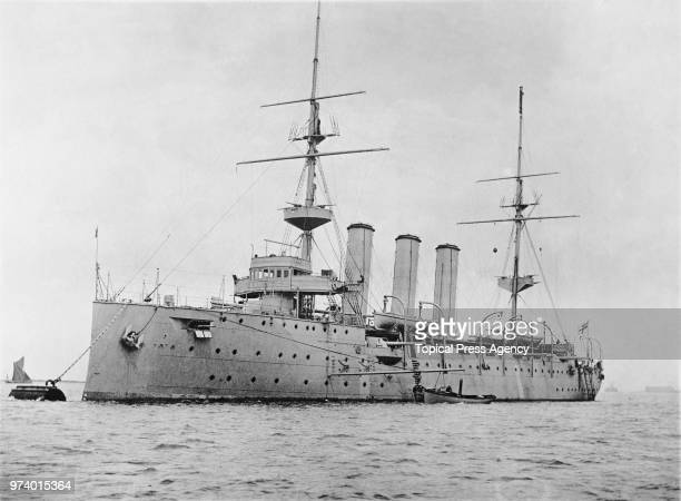 The Sir William Henry White designed HMS Challenger a secondclass protected cruiser of the Challengerclass of the Royal Navy in the English Channel...