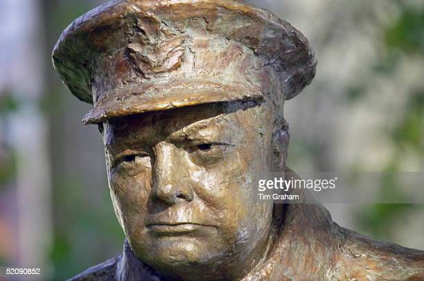 The Sir Winston Churchill Statue Unveiled At A Ceremony Attended By The Queen In Paris