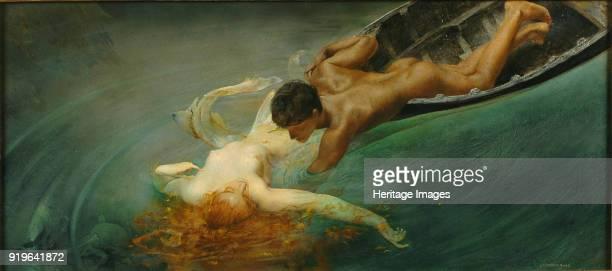 The Siren ca 1893 Found in the Collection of Galleria Civica d'Arte Moderna Torino
