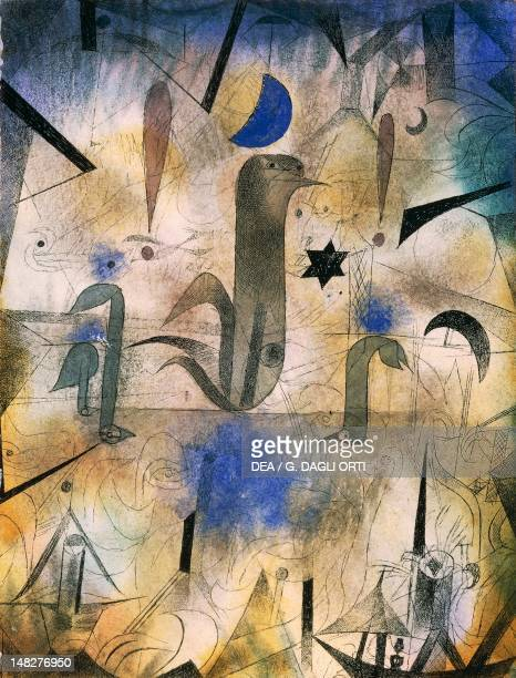 The sirens of ships by Paul Klee Stuttgard Staatgalerie Graphische Sammlung