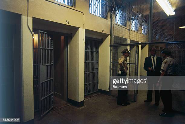 The Sirhan Area is ready on San Quentin Prison's death row for the killer of Senator Robert F Kennedy The address Cell 33 South Side condemned Unit 1...