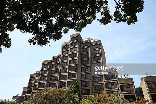 The Sirius residential building a governmentowned property stands in the Rocks district in Sydney Australia on Friday Nov 7 2014 Australia's most...