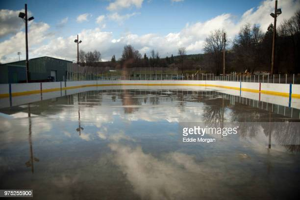 the siskiyou ice rink - siskiyou stock pictures, royalty-free photos & images