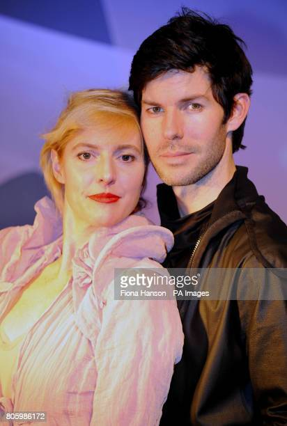 The sister of Kate Winslet Anna Winslet and Christof Dostal appearing in The Power of Love by Ilmar Taska at the Courtyard Theatre east London