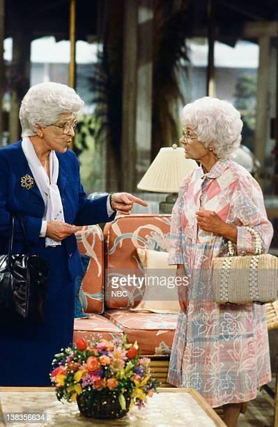 "The Sisters"" Episode 12 -- Pictured: Nancy Walker as Angela Petrillo, Estelle Getty as Sophia Petrillo"
