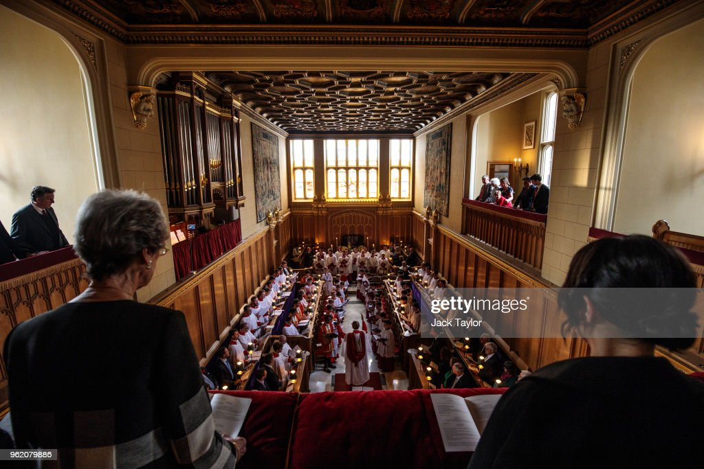 The Sistine Chapel Choir Perform At The Chapel Royal