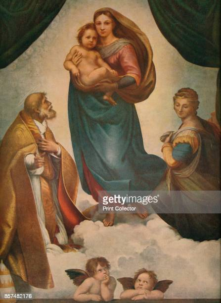 The Sistine Madonna' . The Sistine Madonna was commissioned by Pope Julius II in honour of his late uncle, Pope Sixtus IV , as an altarpiece for the...