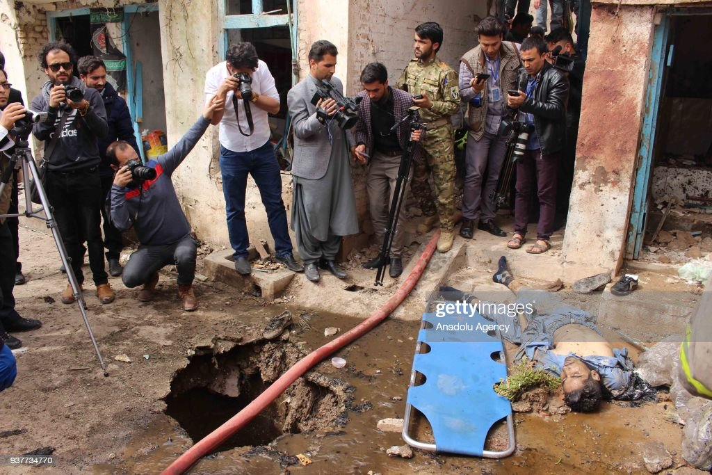 Suicide bombers attack mosque in Afghanistan's Herat : News Photo