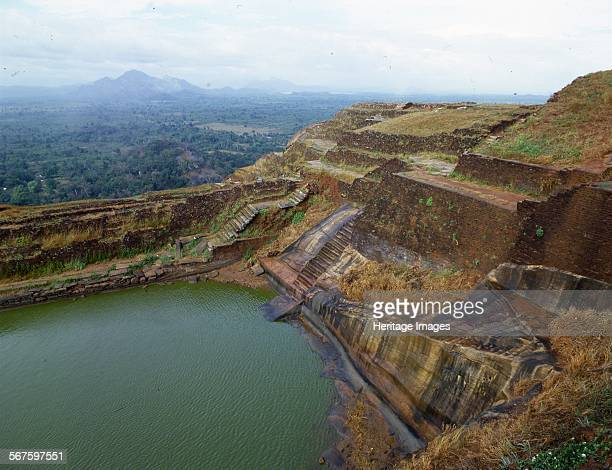The site of an ancient fortress and Buddhist monastery at Sigiriya Lion's Rock Sri Lanka Built during the reign of King Kashyapa I It is a World...