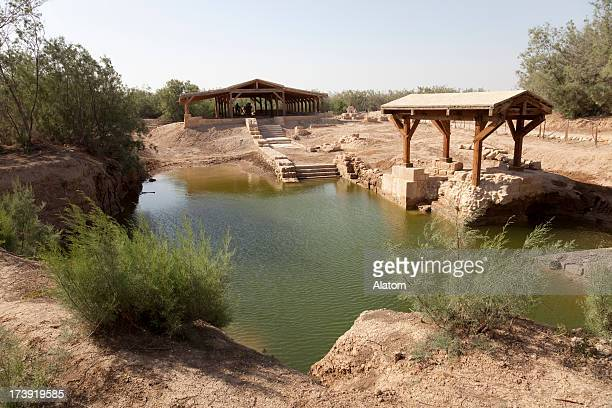 The site where Jeasus was baptized