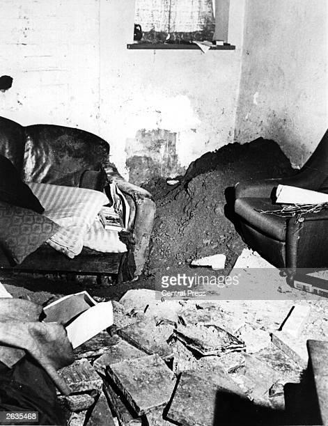 The sitting room of 'Penlleinall' in Tregaron Wales the alleged home of Dr Bott where a large haul of the mindaltering drug LSD was found under the...