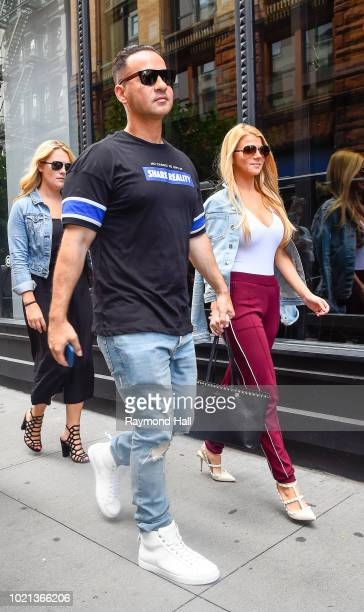 The Situation seen arriving at Aol Live in soho on August 22 2018 in New York City
