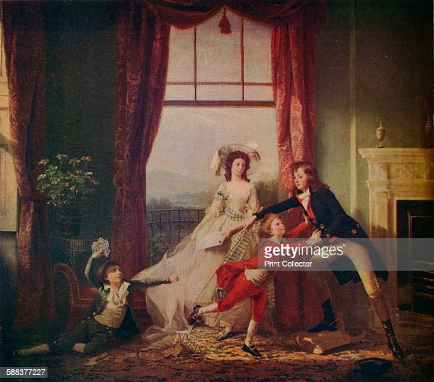 The Sitwell Family' c18th century From The Studio Volume 99