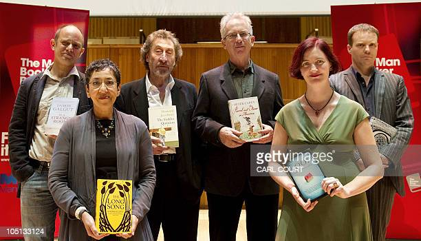 The six authors shortlisted for the Man Booker 2010 literary prize Damon Galgut for In A Small Room Andrea Levy for The Long Song Howard Jacobsen for...