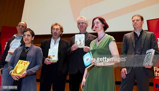 The six authors shortlisted for the Man Booker 2010 literary prize Damon Galgut for In A Small Room Andrea Levy for The Long Song Howard Jacobson for...
