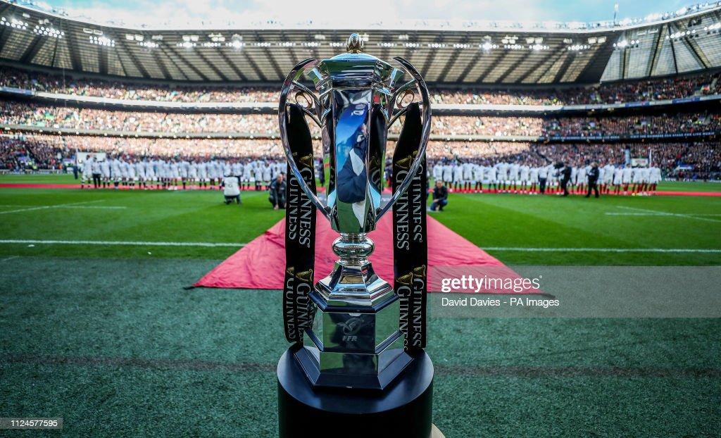 England v France - Guinness Six Nations - Twickenham Stadium : News Photo