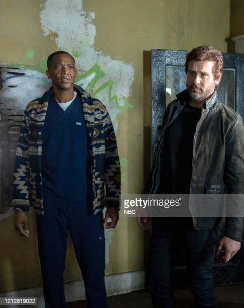 DADS The Sixth Stage Episode 104 Pictured J August Richards as Dr Oliver Post Clive Standen as Anthony Lavelle