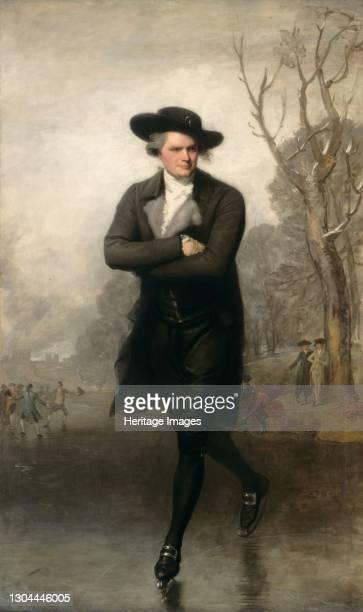 The Skater , 1782. Artist Gilbert Stuart.