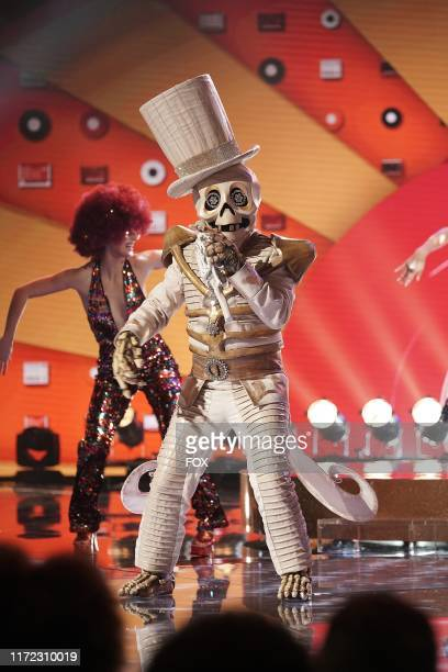 The Skeleton in the Season Two Premiere episode of THE MASKED SINGER airing Wednesday Sept 25 on FOX