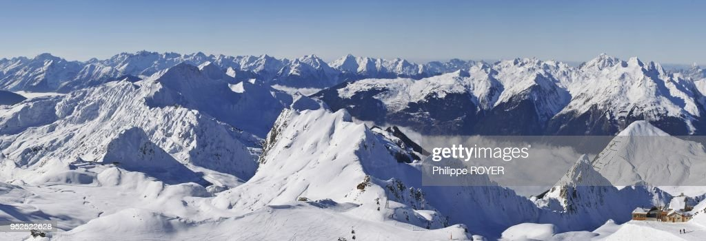 La Plagne Ski Ressort, Savoy, France : News Photo