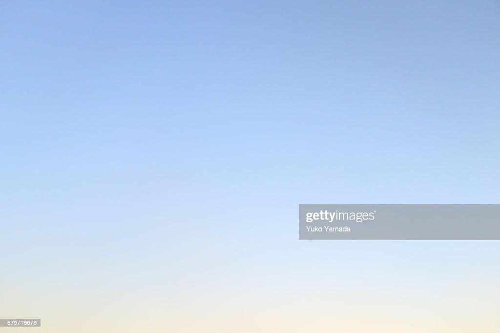 The Skies Above : Stock Photo
