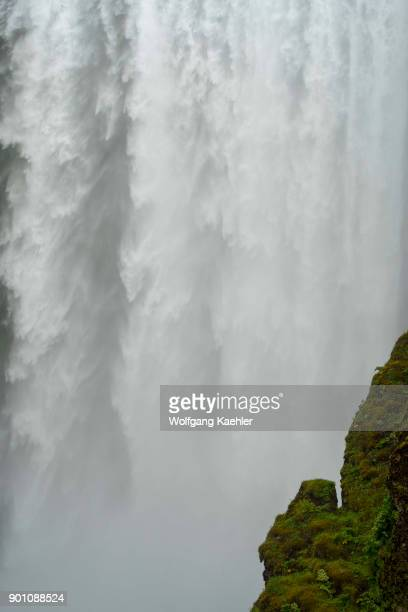 The Skogafoss is one of the biggest waterfalls in southern Iceland with a width of 15 meters and a drop of 60 m