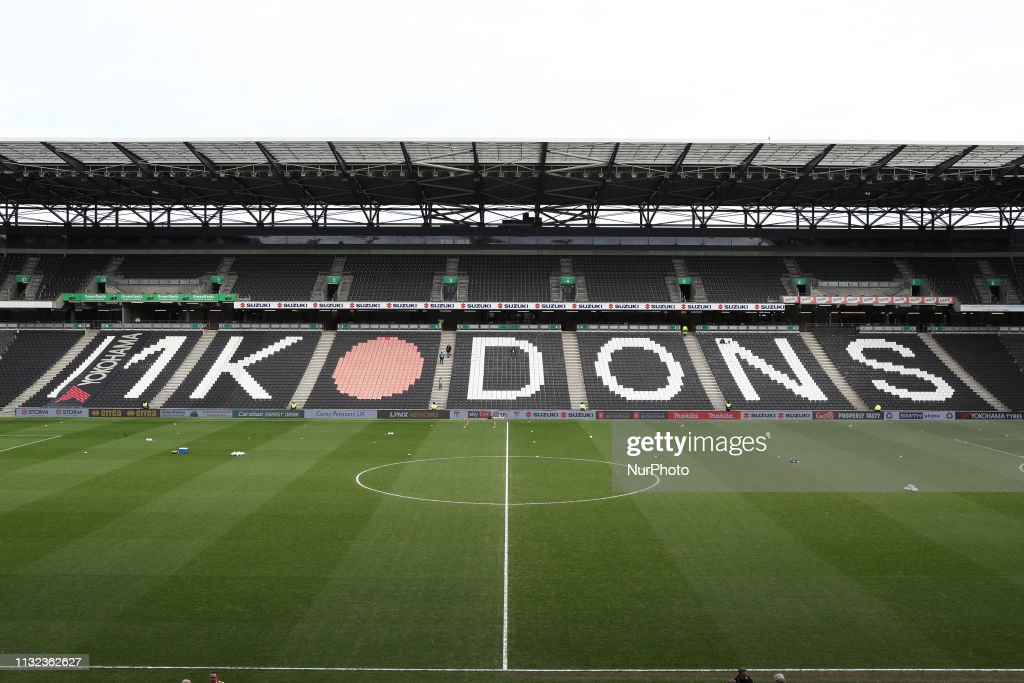 GBR: MK Dons v Yeovil Town - Sky Bet League 2