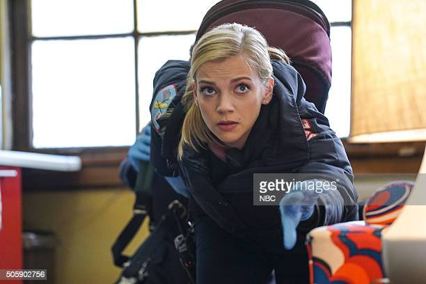 FIRE The Sky Is Falling Episode 413 Pictured Kara Killmer as Sylvie Brett