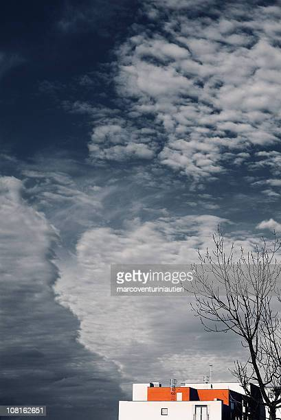 the sky like sea, ocean village, southampton - southampton england stock pictures, royalty-free photos & images