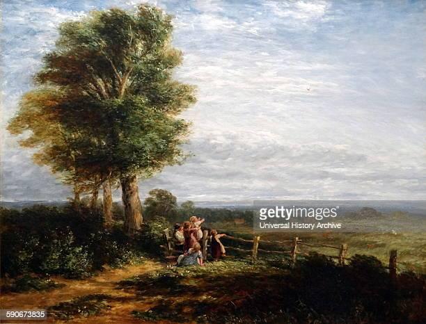 The Skylark by David Cox English landscape painter Dated 1849