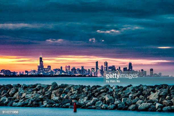 the skyline beyond - indiana stock pictures, royalty-free photos & images