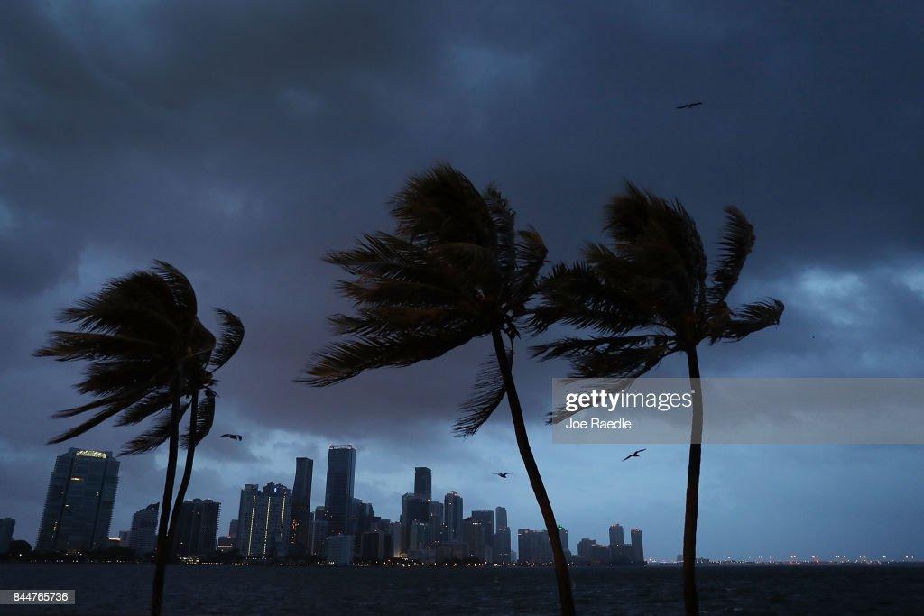 Massive Hurricane Irma Bears Down On Florida : News Photo