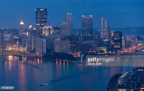The skyline of downtown Pittsburgh, Pennsylvania, September 22 as the city prepares for the G20 summit of world economic leaders being held later...