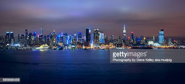 The skyline of New York City