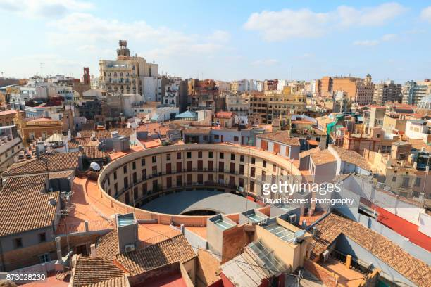 the skyline of valencia, spain - valencia spain stock pictures, royalty-free photos & images