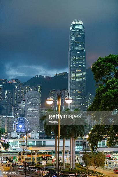 The skyscraper - International Fincial Center, Hong Kong